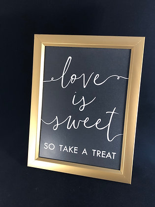 """Small """"Love is Sweet..."""""""