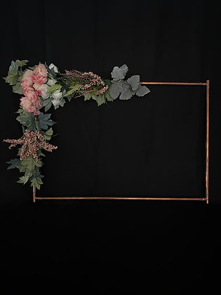 Copper Floral Frames