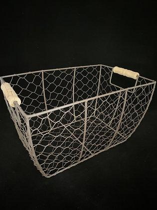 Wire Basket Card Holder