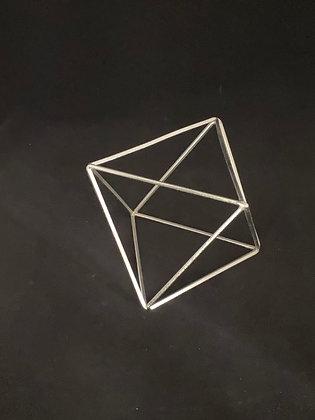 Silver Geometric Shapes