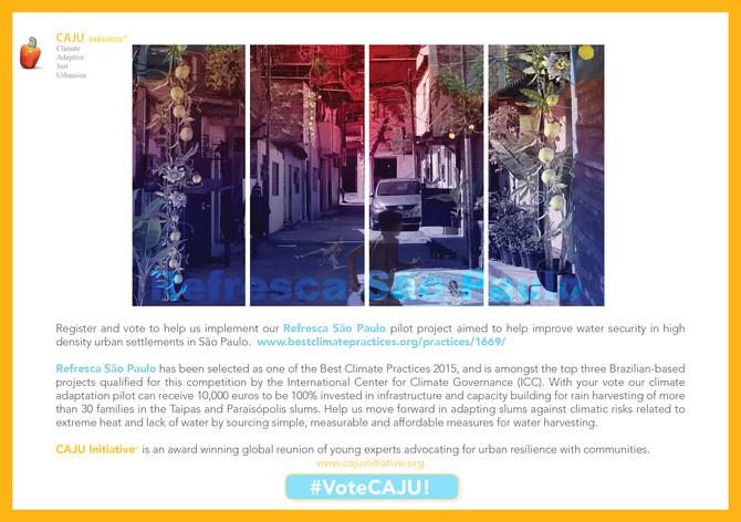 Vote for Refresca Sao Paulo!