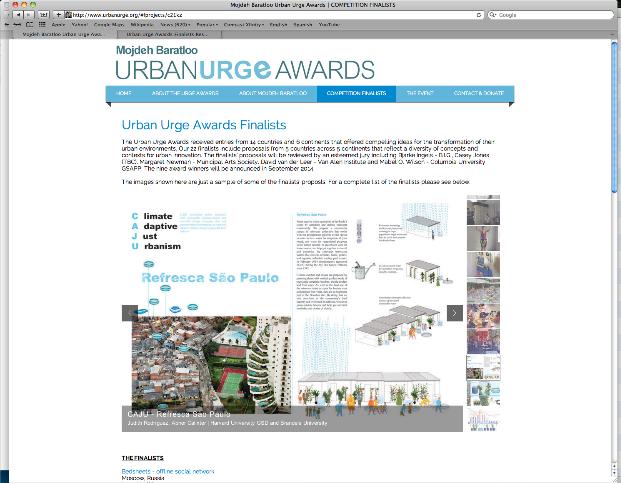 Refresca São Paulo finalist in Urban Urge Awards