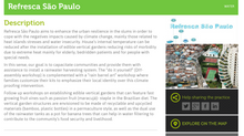 CAJU's Refresca São Paulo featured as Best Climate Practices from ICCG