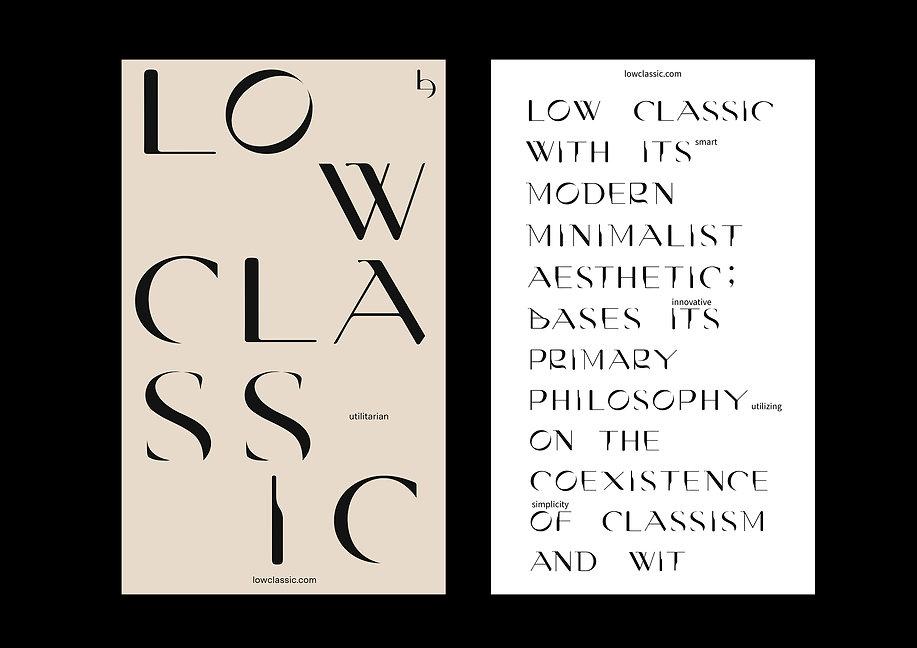 Low Classic Branding
