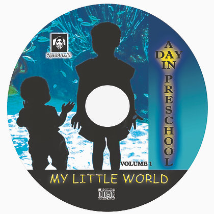 "My Little World ""A Day In PreSchool"" Songs - USB"
