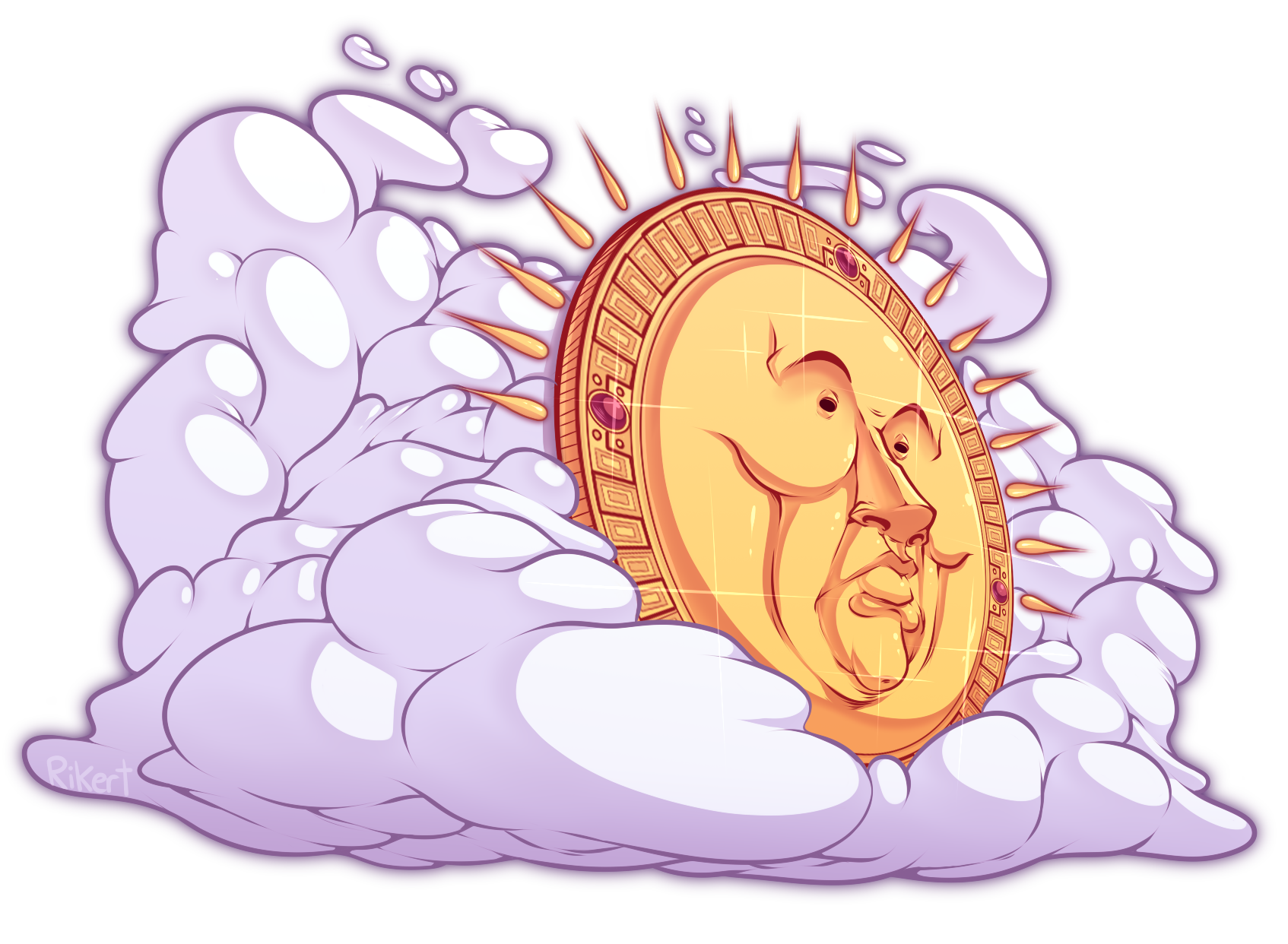 The sun B