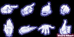 Hands Gloves 1A