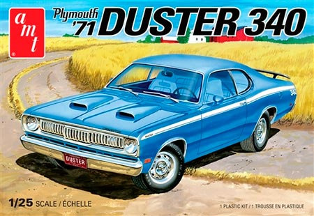 Plymouth Duster 340 1971 - 1/25