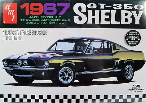 Kit p/ montar Shelby GT350 1967 - 1/25 -AMT