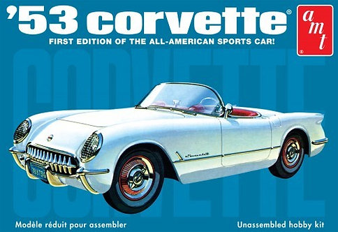 Chevy Corvette 1953 - 1/25 - AMT
