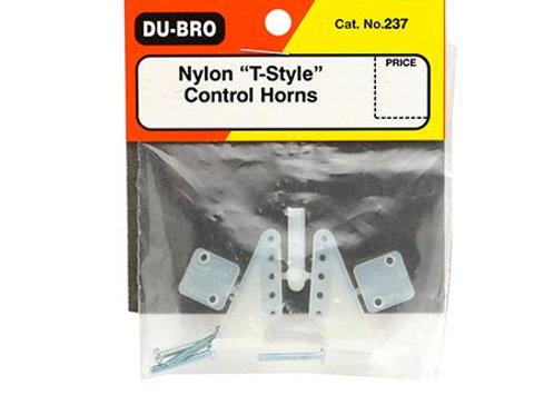 "Control Horn de Nylon ""T-Style"" (2 pçs) - Dubro"