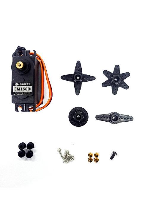 Servo para Carros R/C (Engrenagem Metal) - 15 KG - FlyerModels