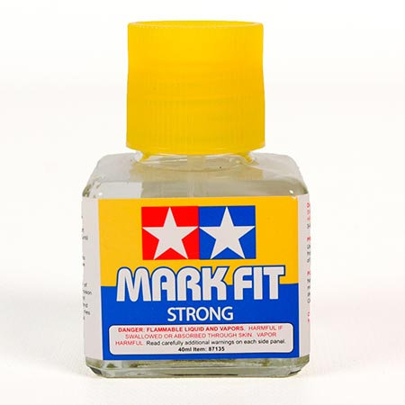 Solução Amaciante de Delcalque Mark Fit Forte - Tamiya