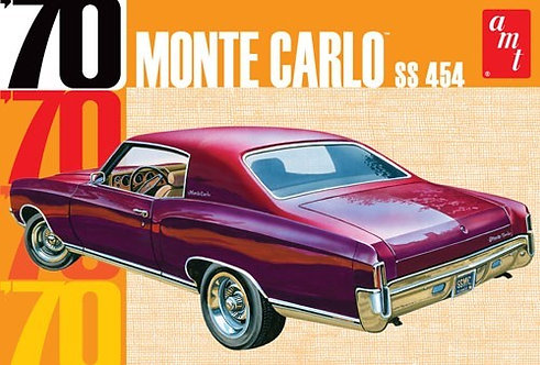 Chevrolet Monte Carlo SS 454 1970 - 1/25