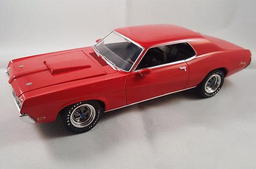 Kit para montar Mercury Cougar 1969  - 1/25 - AMT