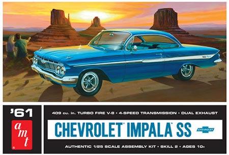 Chevy Impala SS 1961 - 1/25
