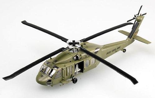 Helicóptero Militar UH-60 Midnight Bule 101 Airborne - 1/72