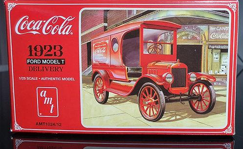 Furgão de entrega de Coca-Cola Ford Modelo T 1923 - 1/25
