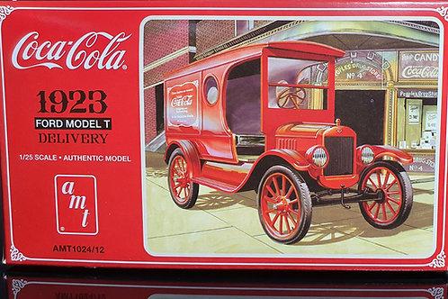 Furgão de entrega de Coca-Cola Ford Modelo T 1923 - 1/25 - AMT