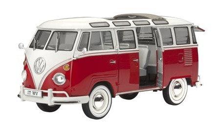 Kombi Volkswagen T1 Samba Bus - 1/24 - Revell