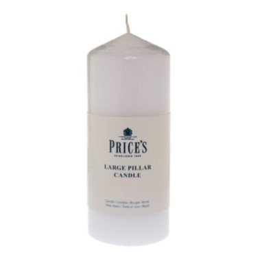 Pillar Candle, 6 inch, White