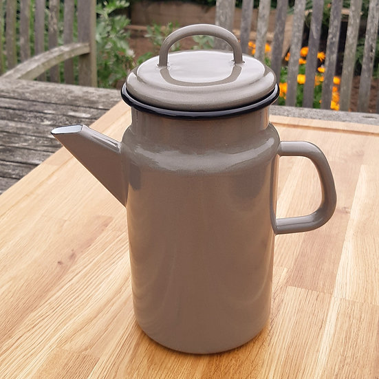 Large Coffee Pot with Lid