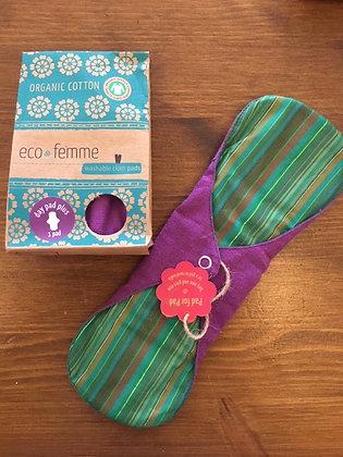Eco Femme Day Pad Plus - vibrant
