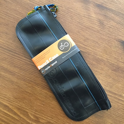Pencil Case (recycled inner tubes)