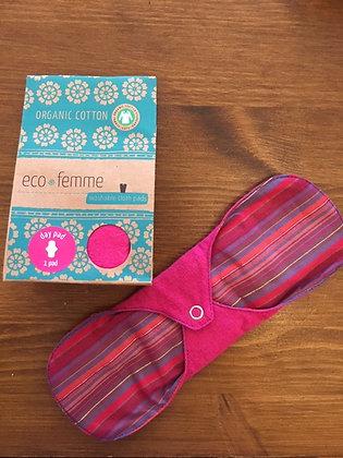 Eco Femme Day Pad - vibrant
