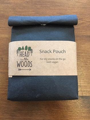 Vegan snack pouch (black)