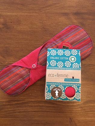 Eco Femme Night Pad - vibrant