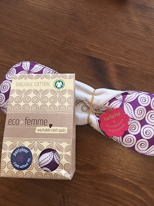 Eco Femme Panty Liner 3 pack (without PUL)
