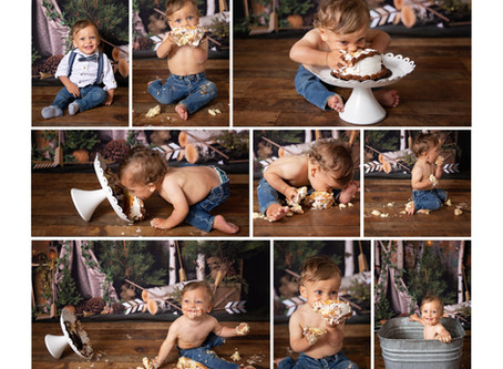 Amazing review from one of my amazing families | Barrie Cake Smash Photographer