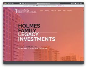 Holmes Family Legacy Investments, LLC