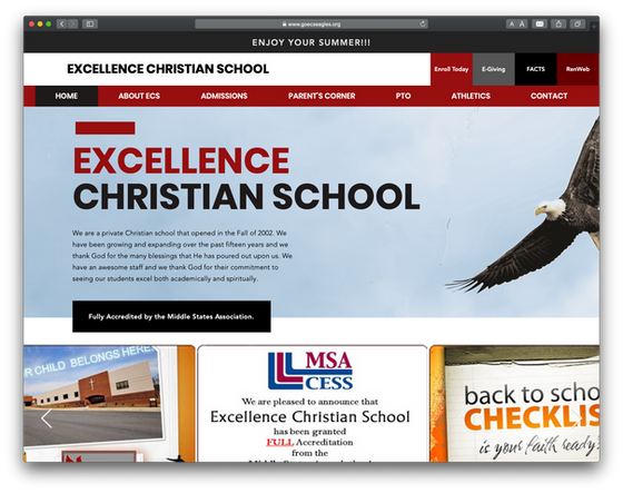 Excellence Christian School