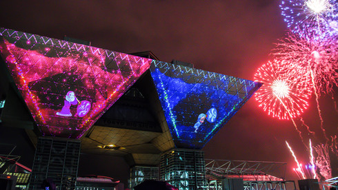 Projection Mapping Summer Festival 2017