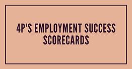 Employment Success Scorecards