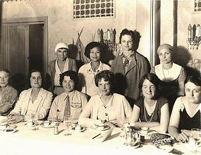 A meeting of the Ninety-Nines, the women