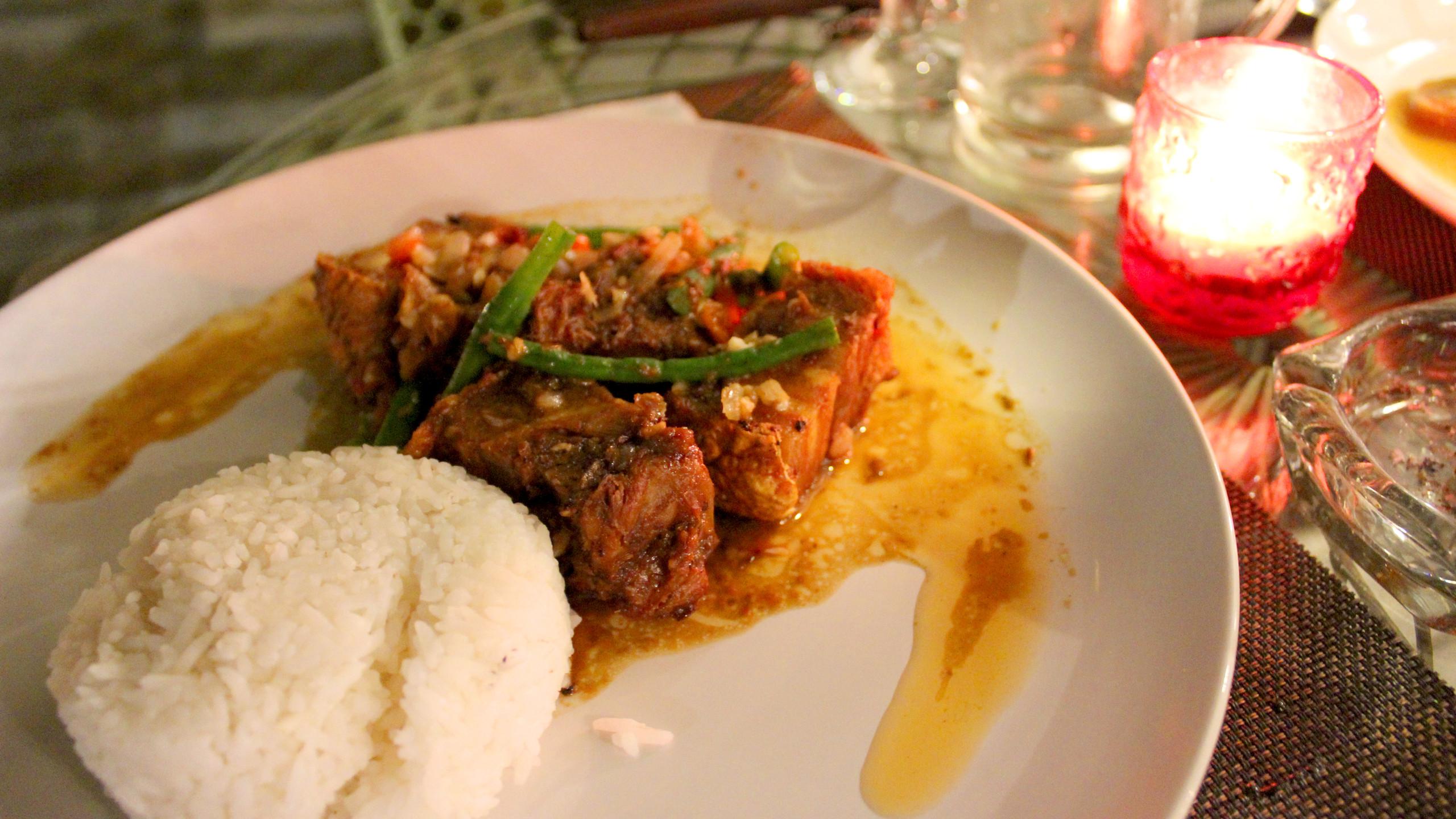 Pork Stew Binagoongan