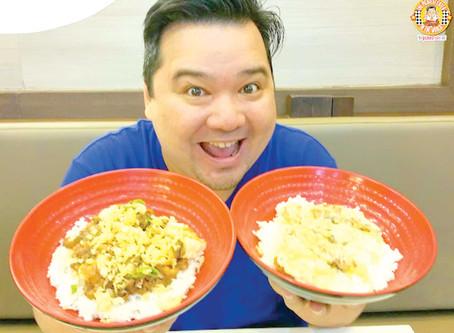 Tokyo Tokyo's Donburi Festival: Tofu Steak Donburi and Cheesy Pork Katsu