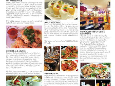Crown Regency Hotels: A Culinary Discovery