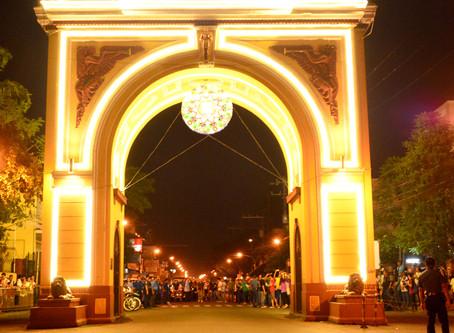 Santa Rosa lights the Arch as ASEAN turns half a century