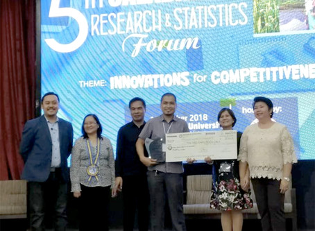 AUP Shines in the 5th CALABARZON Research & Statistics Forum