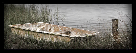 Camouflage Dinghy