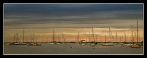 Port Jefferson at Dusk