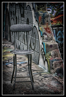 Empty Seat at 5 Pointz