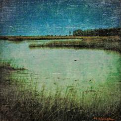 Flax Pond at Dusk