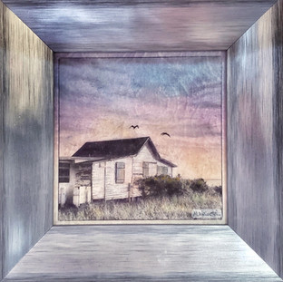 White Cottage, Framed.jpg