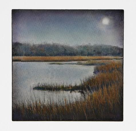Flax Pond Moonrise (NFS)