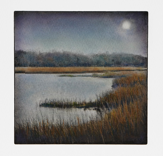 Flax Pond Moonrise (NFS)
